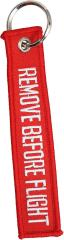 Avaimenperä, REMOVE BEFORE FLIGHT