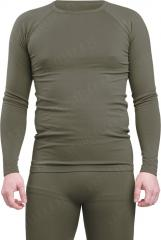 Mil-Tec Sports long sleeve shirt, moisture wicking, olive