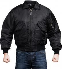 Brandit CWU-45P flight jacket, black