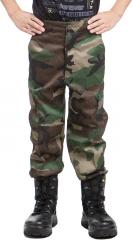 Mil-Tec kids BDU trousers, Woodland