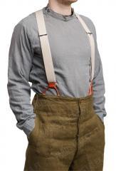 Finnish service shirt, gray, surplus