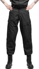Teesar ACU trousers, ripstop, black