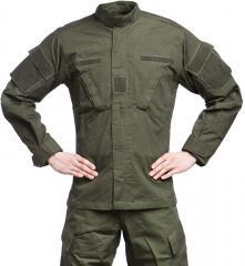 Teesar ACU takki, ripstop, oliivinvihreä