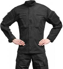 Teesar ACU jacket, ripstop, black