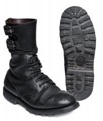Ranskalaiset BM65 solkivarsikengät, mustat, ylijäämä