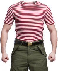Venäläinen Telnyashka, T-paita, punaraitainen