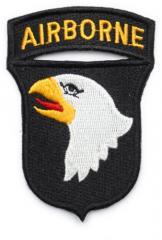US 101st Airborne Division-hihamerkki, täysvärinen