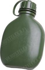 Finnish water bottle, plastic, 0,65 liters, used