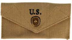 US M-1942 first aid dressing pouch, repro