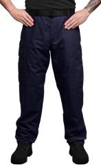Teesar BDU trousers, ripstop, navy blue