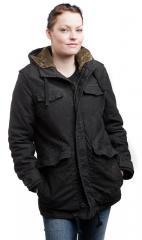 Brandit Haley Parka, black, for women