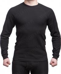 Czech moisture wicking undershirt, black