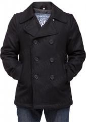 Brandit Pea Coat, black