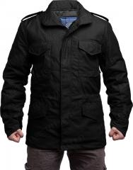 Brandit M65 field jacket with liner, black