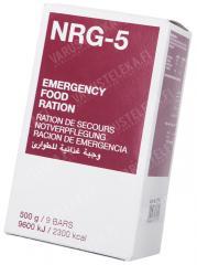 MSI NRG-5 emergency food ration, 500 g / 2300 kcal