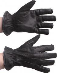 Tegera 300 kidskin gloves with cotton liner, black