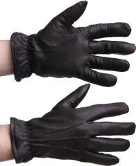 Tegera 355 deerskin gloves with acrylic liner, black