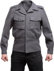 Finnish M65 wool jacket, gray, surplus