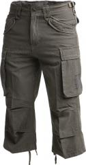 Brandit Industry 3/4 shorts, olive drab