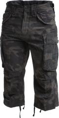Brandit Industry 3/4 shortsit, Dark Camo.