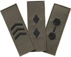 Särmä TST Finnish M05 rank insignia, subdued