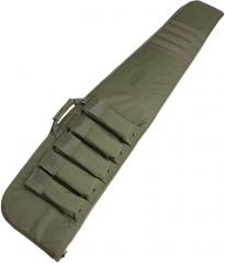 Mil-Tec rifle bag with magazine pouches, olive drab