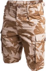 Brittiläiset CS95 shortsit, Desert DPM, ylijäämä