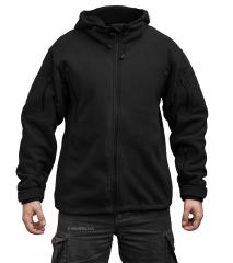 Särmä hooded Fleece jacket, black
