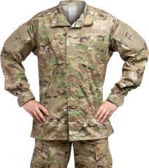 Teesar ACU jacket, ripstop, Multitarn