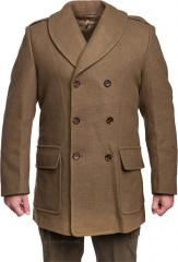 Särmä Classic Mackinaw wool coat, brown