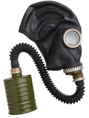 CCCP GP-5 gas mask, black, with accessories, surplus