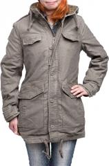 Brandit Haley Parka, olive drab, for women
