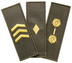 Särmä TST Finnish M05 rank insignia, full colour