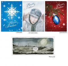 Christmast card, 4 cards