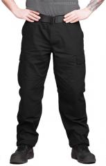 Teesar BDU trousers, ripstop, black