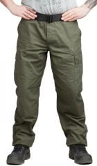 Teesar BDU trousers, ripstop, olive drab