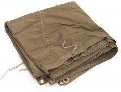 Soviet Plash-palatka, rain cape/shelter half, surplus