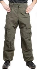 Teesar ECWCS Level 5 Soft Shell trousers, olive drab