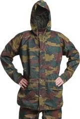 Belgian Jigsaw camo rain jacket, surplus