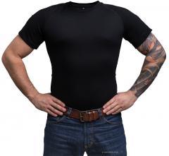 Särmä TST T-paita, merinovillaa, musta