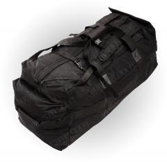 Brittiläinen keikkalaukku, 100 l, musta, ylijäämä
