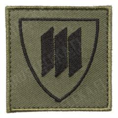 Särmä TST M05 Maanpuolustuskoulutusyhdistys MPK hihamerkki, kenttävärit