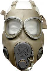 NVA/Czech M10 gas mask with carry bag, surplus