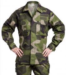 Swedish M90 field jacket, surplus