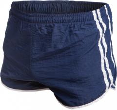 French sports shorts, lubricious, blue, surplus