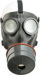Swiss SM-67 gas mask w/ bag, surplus