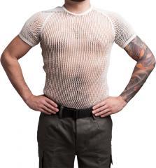 Danish mesh T-shirt, white, surplus