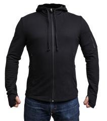 Särmä viscose hoodie, black