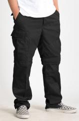 Mil-Tec Zip-Off BDU trousers, black
