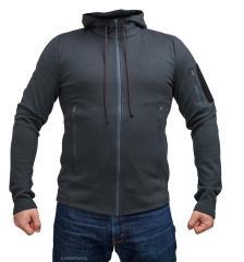Särmä merino wool hoodie, dark grey